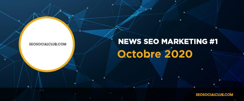 News SEO Octobre 2020